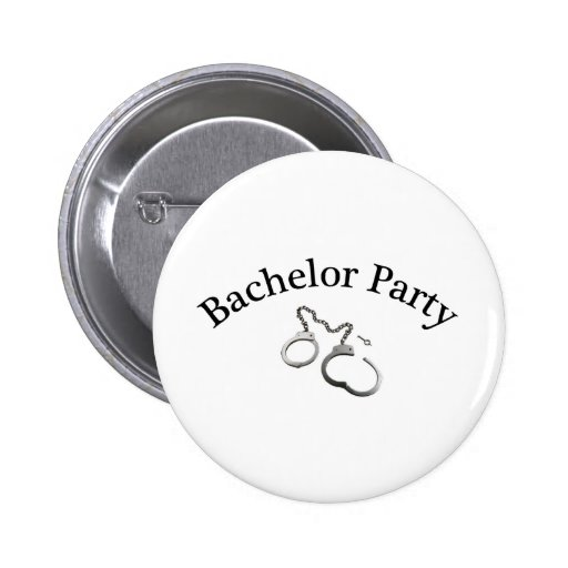 Bachelor Party Handcuffs Pins