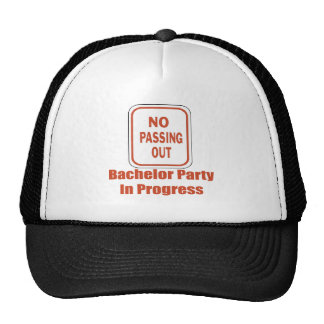Bachelor Party Hat / Cap