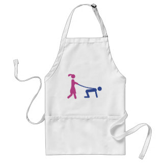 bachelor party icon adult apron