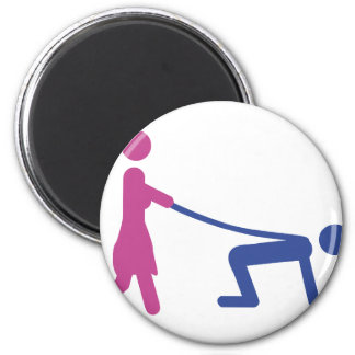 bachelor party icon magnet