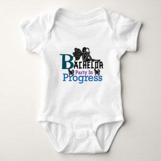 Bachelor party In Progress Baby Bodysuit