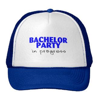 Bachelor Party In Progress Trucker Hat