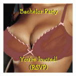 Bachelor Party Invitation