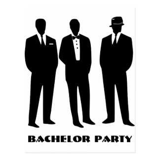 bachelor party invitation,groom shower invitation postcard