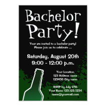 Bachelor party invitations | Custom invites