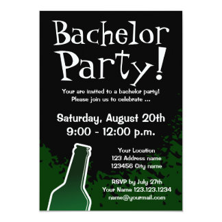 Bachelor party invitations | Custom invites