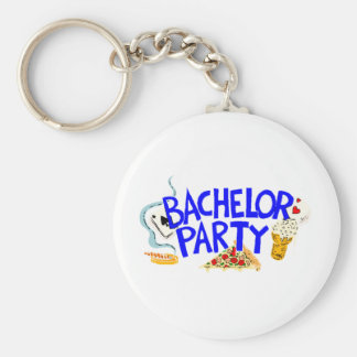 Bachelor Party Keychain