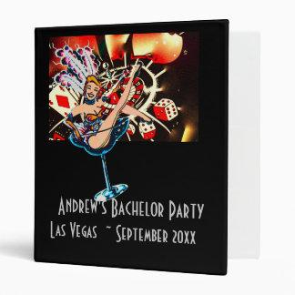 Bachelor Party Las Vegas Showgirl Photo Album Binder
