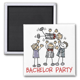 Bachelor Party Refrigerator Magnet