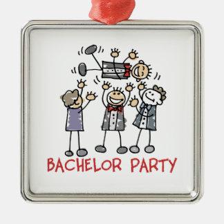 Bachelor Party Metal Ornament