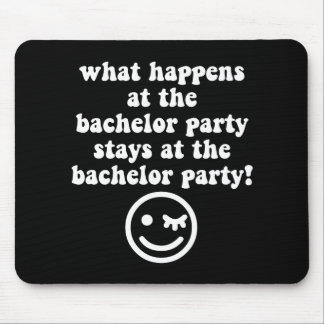 Bachelor party mouse pads