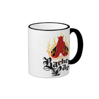 Bachelor Party on Fire Ringer Coffee Mug