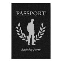 bachelor party passport card