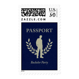 bachelor party passport postage