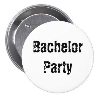 Bachelor Party Pin Button