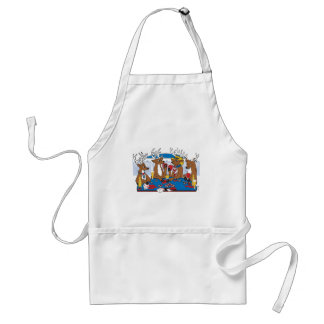 Bachelor Party Poker Player Adult Apron