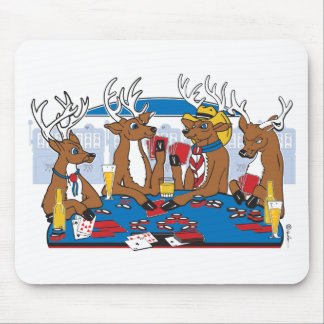 Bachelor Party Poker Player Mouse Pad