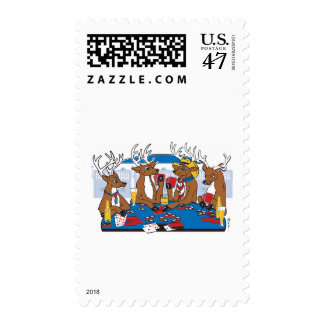 Bachelor Party Poker Player Postage
