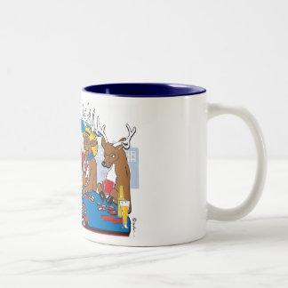 Bachelor Party Poker Player Two-Tone Coffee Mug