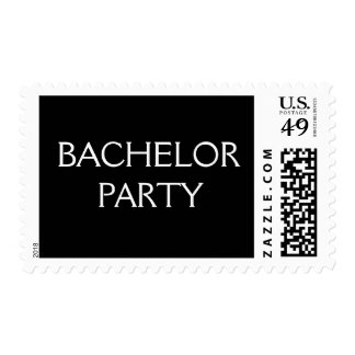 Bachelor Party Postage
