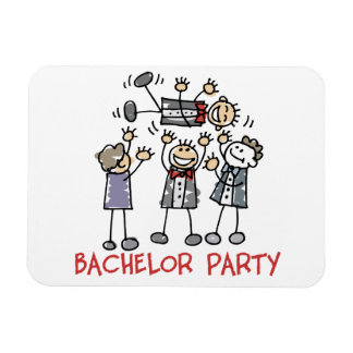 Bachelor Party Rectangular Magnet