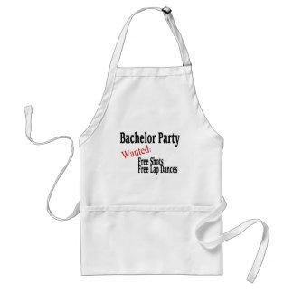 Bachelor Party (Shots and Lap Dances) Adult Apron