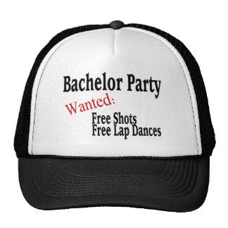 Bachelor Party (Shots and Lap Dances) Mesh Hat