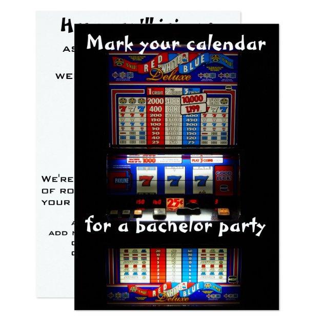 Slot machine comma 7c