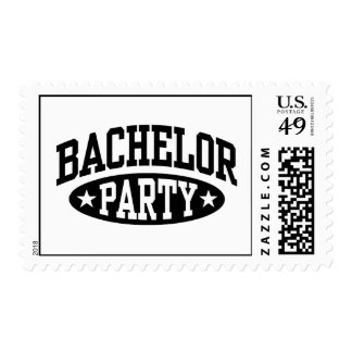 Bachelor Party Stamps