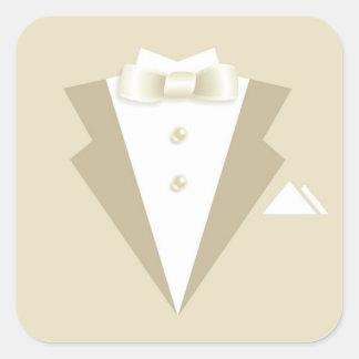 Bachelor Party Suit Sticker