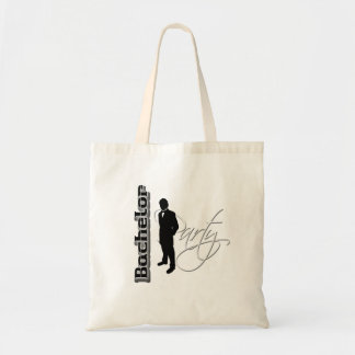Bachelor party - thank you gifts from groom tote bags