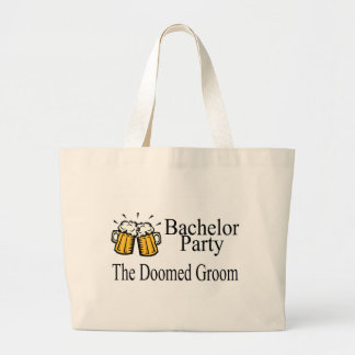 Bachelor Party The Doomed Groom Tote Bags