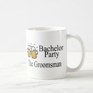 Bachelor Party The Groomsman Coffee Mug