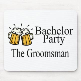Bachelor Party The Groomsman Mousepad