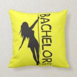 Bachelor Party Throw Pillows