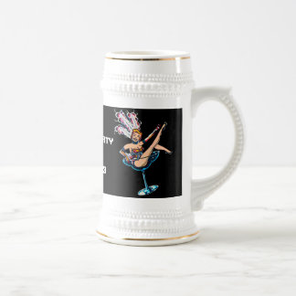 Bachelor Party Vegas Style 18 Oz Beer Stein