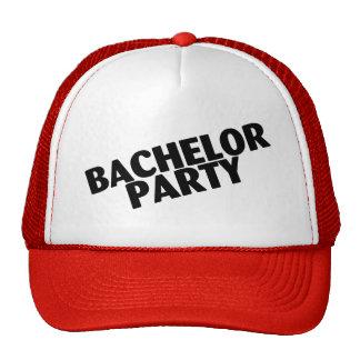 Bachelor Party Wedding Black Trucker Hat