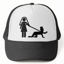 Bachelor party Wedding slave Trucker Hat