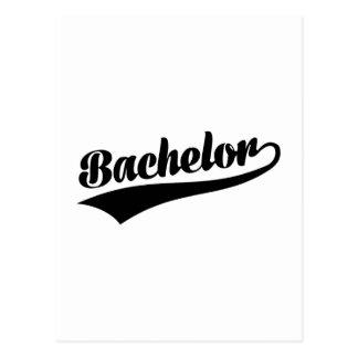 Bachelor Postcard