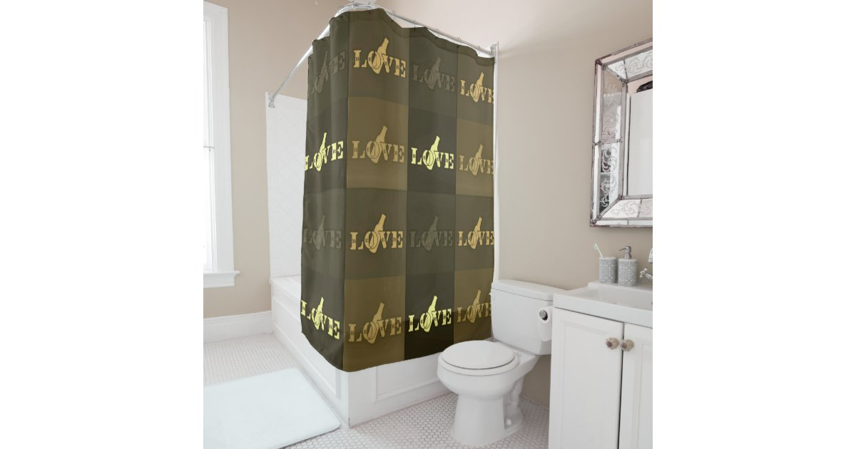 Bachelor Shower Curtain
