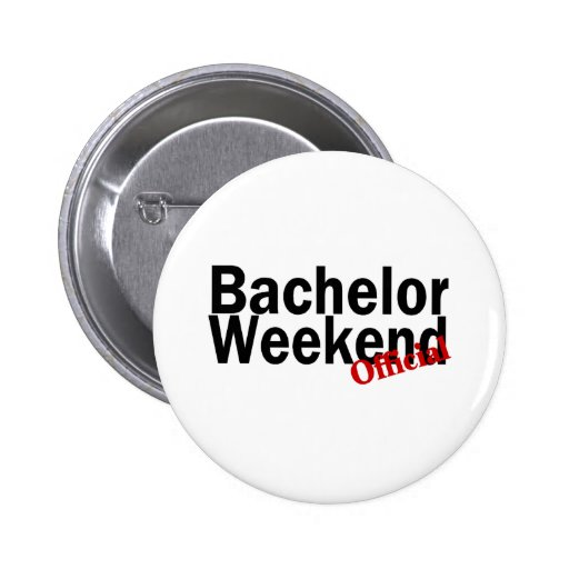 Bachelor Weekend (Official) Button