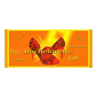 Bachelorette bash card custom invites