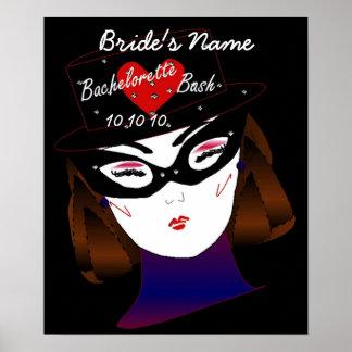 """Bachelorette Bash I"" Poster - Customizable Poster"