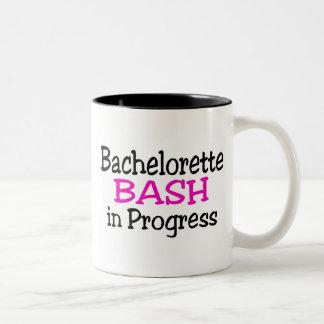 Bachelorette Bash In Progress Two-Tone Coffee Mug