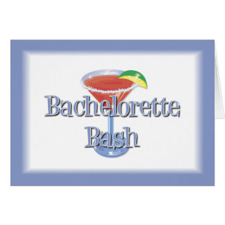 Bachelorette Bash invitation Greeting Cards