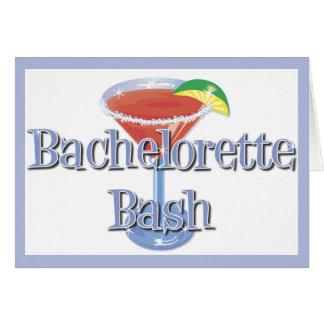 Bachelorette Bash invitations Stationery Note Card