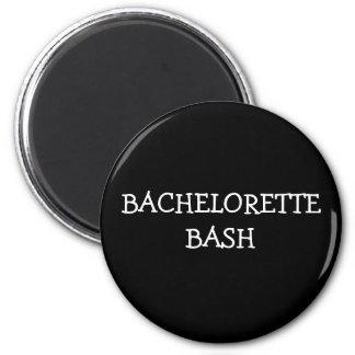 Bachelorette Bash 2 Inch Round Magnet