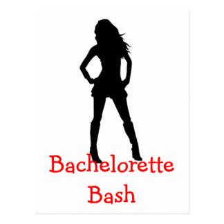Bachelorette Bash Postcard