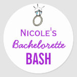 Bachelorette Bash Stickers