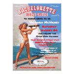 Bachelorette Booze Cruise Party Invitations